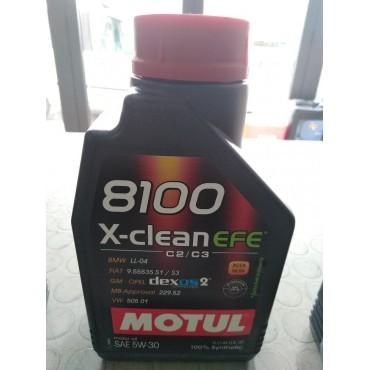 OLIO 5W30 EFE   8100X CLEAN